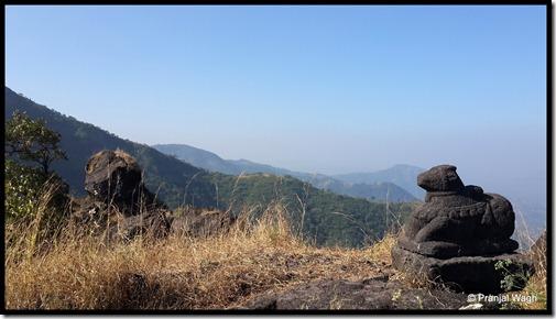 The Beautiful Nandi on Chandragad!